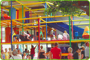Adventure Play Equipment in Play Centre